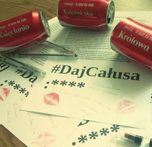 Marcelina Kornelia: Letters/Wyzwanie coca-cola #dajcalusa