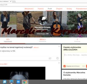Marcelina Kornelia: Ask.fm ~ Q