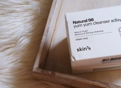 Skin79 Natural 98 Yum Yum Cleanser | Cudowne muśnięcie.. | Recenzja