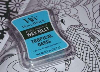WoodWick - Tropical Oasis | Recenzja wosku zapachowego