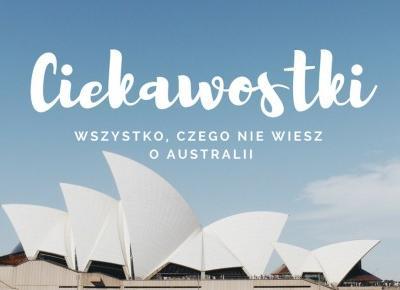 10STARS: Ciekawostki o Australii !