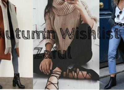 Autumn Wishlist - Zaful