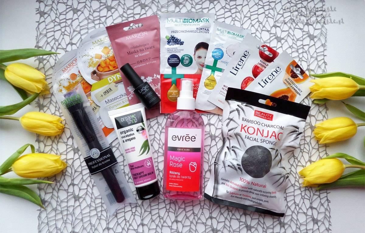 Wiosenny haul zakupowy, czyli moje nowości kosmetyczne i nie tylko