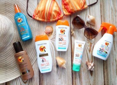 Kosmetyki do opalania marki Kolastyna