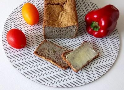 Chleb bezglutenowy bez jajek i mleka - prosty, domowy przepis