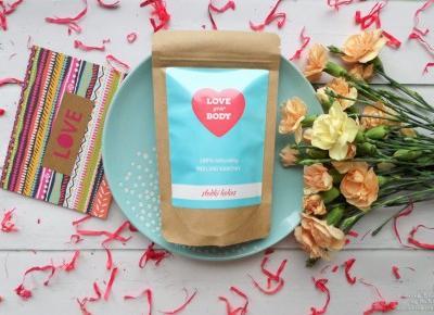 Peeling kawowy Love Your Body, słodki kokos