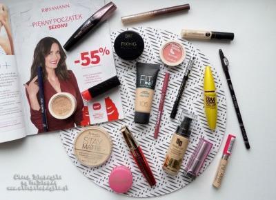 Co warto kupić w Rossmannie na promocji -55% na produkty do makijażu?