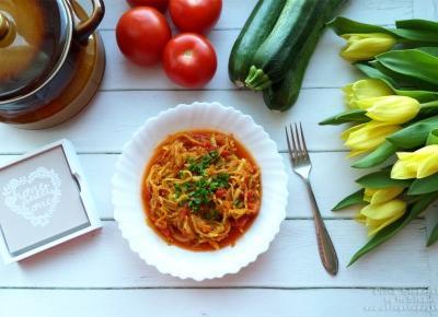Spaghetti z cukinii wg diety dr Dąbrowskiej – przepis krok po kroku