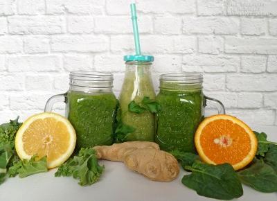 Zielone koktajle na wiosenny detoks – przepisy