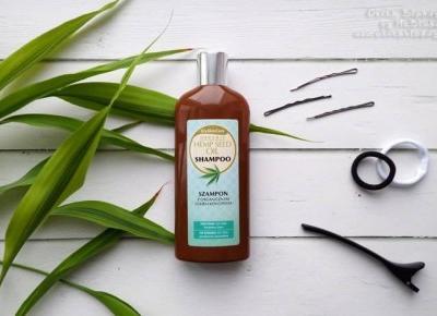 GlySkinCare Szampon z organicznym olejem konopnym – delikatna pielęgnacja włosów i skóry głowy