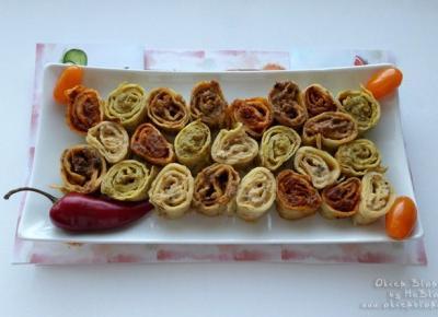 Bezglutenowe roladki naleśnikowe z pastami warzywnymi Wawrzyniec – przepis krok po kroku