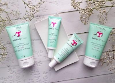 Floslek BALANCE T-zone – antidotum na problemy skóry mieszanej?