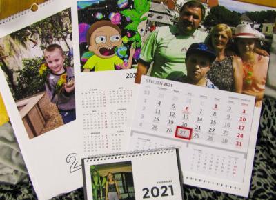 Kalendarze na 2021 pomysłem na prezent świąteczny