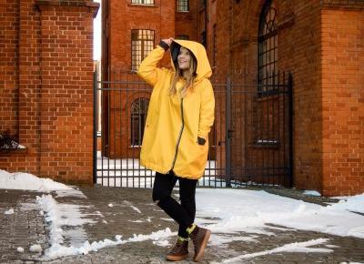 Żółty płaszcz na wiosenną (nie)pogodę! | Welcome To Melodylaniella Land