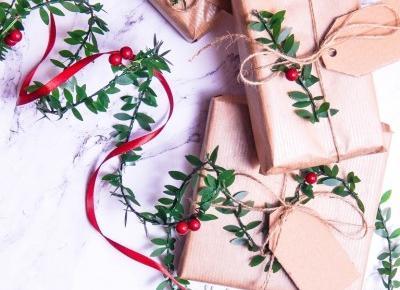 Jak zapakować prezent w papier pakowy - 3 inspiracje + Karnety / Bileciki do prezentów - 9 wzorów do druku | Welcome To Melodylaniella Land