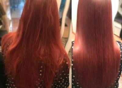 Keratynowe prostowanie włosów w domu? tak! to możliwe! UBERHAIR! :) | Witaj w moim swiecie