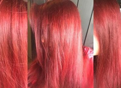 Moje czerwone włosy, jakiej farby używam? | Witaj w moim swiecie