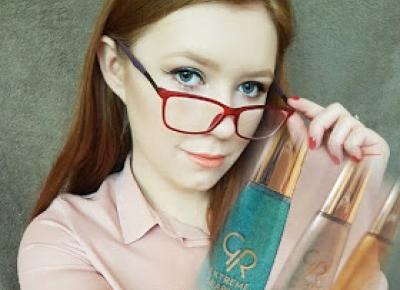 Michalina Zawalska: Golden Rose Extreme Sparkle w 5 makijażowych gwiazdkach Michalin'y!