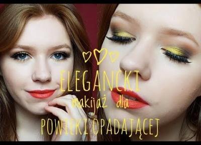 Elegancki makijaż dla powieki opadającej| TUTORIAL