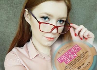 Rimmel Fresher Skin w 5 makijażowych gwiazdkach Michalin'y!