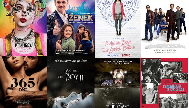 Premiery filmowe na luty 2020