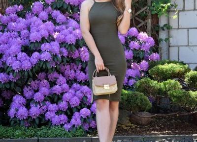 Mis Marli: Dopasowana sukienka przed kolano | KONKURS -  WYGRAJ TOALETKE, KOSMETYKI I WIELE INNYCH NAGRÓD