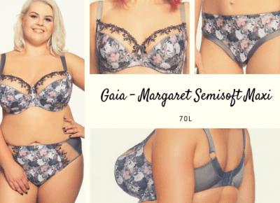 Gaia - Margaret Semisoft Maxi 70L; Wiosenna burza - Miski Dwie - blog o dwóch biustach