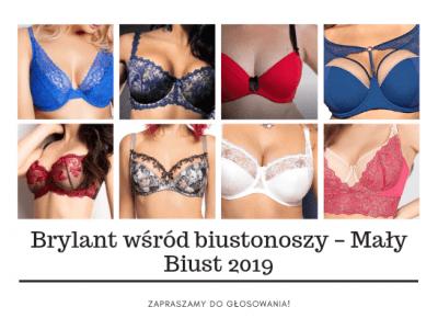 Brylant wśród biustonoszy - Mały Biust 2019; zapraszamy do głosowania! - Miski Dwie - bieliźniarski blog inkluzywny