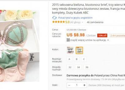 Aliexpress - Jak Kupić, By Nie Zwariować - Miski Dwie - bieliźniarski blog inkluzywny