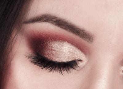 Świąteczny cut crease - Makijaż krok po kroku | Miss Lilith