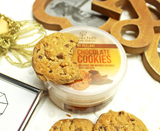 Peeling Chocolate Cookies - Hristina Cosmetics recenzja