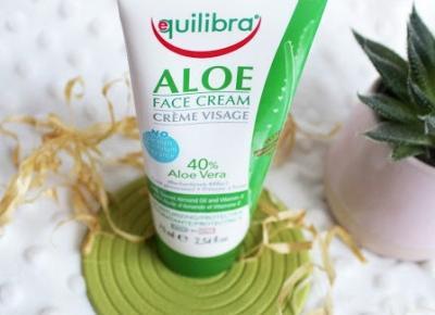 Aloesowy krem do twarzy - Equilibra