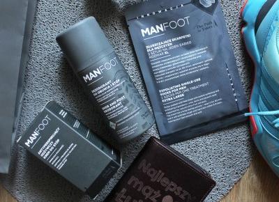 Kosmetyki do pielęgnacji męskich stóp - MANFOOT recenzja - .