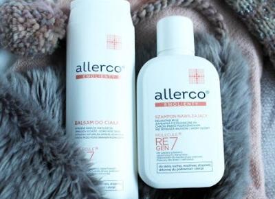 Odpowiednie nawilżenie na zimę - balsam i szampon Allerco