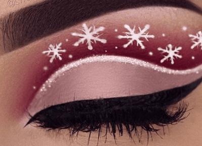 Świąteczne make up
