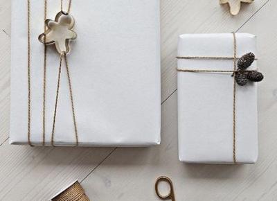 Pomysły na to jak zapakować prezent na święta #2