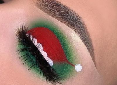 Inspiracje: świąteczny makijaż