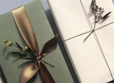 Pomysły na to jak zapakować prezent na święta #3