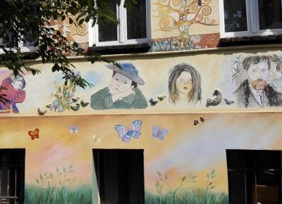 Street-art, czyli najpiękniejsze podwórza we Wrocławiu [ZDJĘCIA]