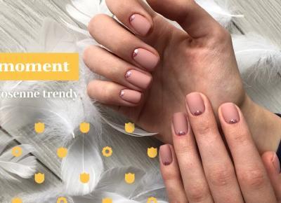 Wiosenne paznokcie - trendy, wzory i kolory na 2018