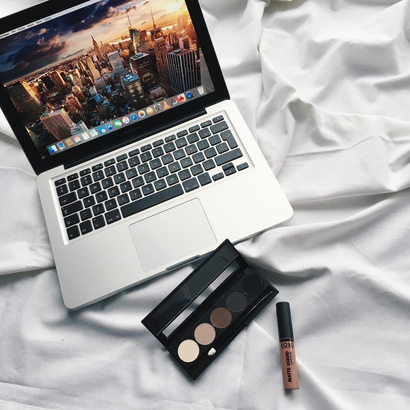 Test paletki KOBO matt eye shadow set   makeup tutorial