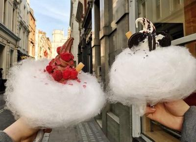 Milk Train – niebiańskie lody na słodkiej chmurce! – Monica Bialucci