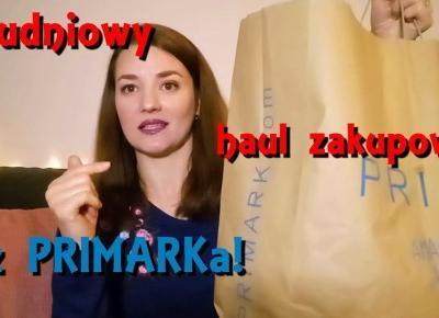 Haul zakupowy z PRIMARKa- Grudzień 2018