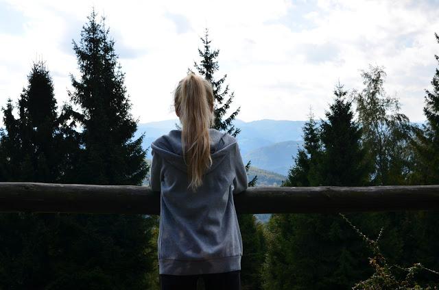I love mountains - Adrianna