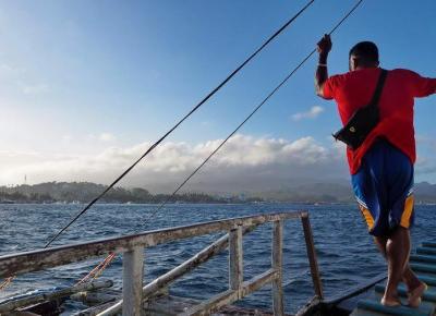 Kilka porad jak podróżować między wyspami na Filipinach - Boracay, Mindoro, Tagaytay, Tablas i Carabao.