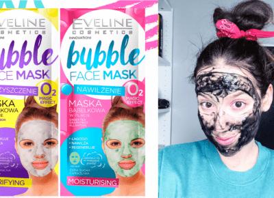 Testujemy Instagramowe HITY: brokatowe i bąbelkowe maski z Rossmanna!