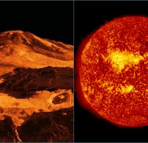 Planety Układu Słonecznego - Wenus