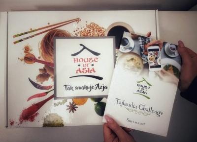 House of Asia - Tajlandia Challenge - Tajska zupa Tom Yum Nam Khon | natblue.eu