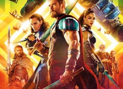 RECENZJA FILMU MARVELA - Thor: Ragnarok (2017) | natblue