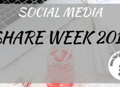 Share Week 2019 - blogerzy polecają blogerów! ⋆ Nie tylko bestellery